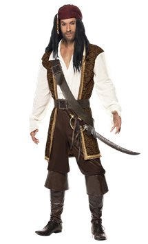 High Seas Pirate - Adult Costume