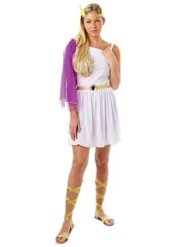 Goddess - Adult Costume front