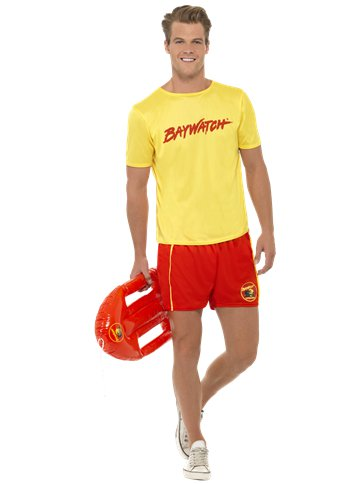 Baywatch Beach - Adult Costume front