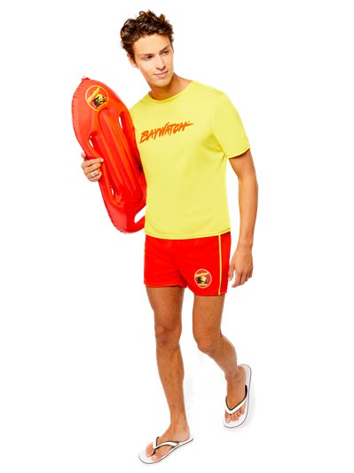 Baywatch Beach - Adult Costume