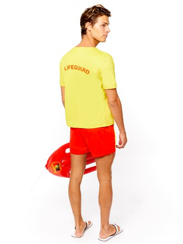 Baywatch Beach - Adult Costume left
