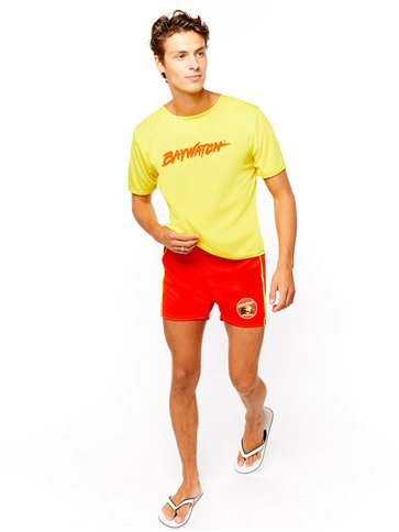 Baywatch Beach - Adult Costume pla