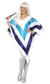 Super Trouper Cape - Adult Costume