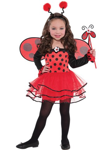 Ballerina Ladybug - Child Costume front