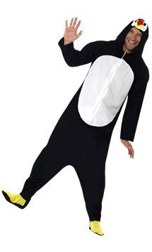Penguin Onesie - Adult Costume