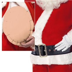 Santa Big Belly - Adult Costume