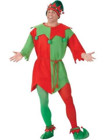 Elf Tunic - Adult Costume front