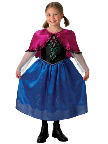Anna Deluxe - Child Costume front