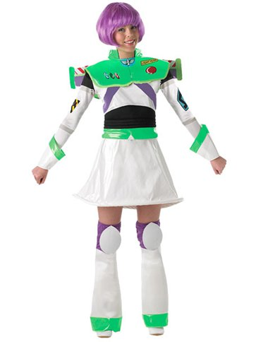 Ladies Buzz Lightyear Adult Costume Party Delights