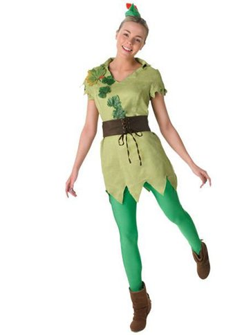 Ladies Peter Pan - Adult Costume front