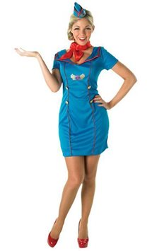 Air Hostess - Adult Costume