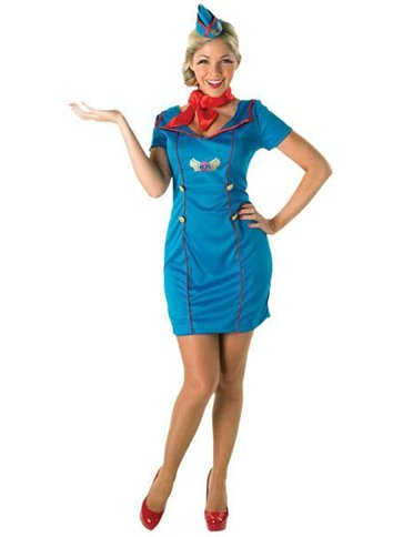 Air Hostess Adult Costume Party Delights