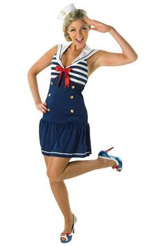 Sailor Girl - Adult Costume