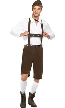 Bavarian Man - Adult Costume
