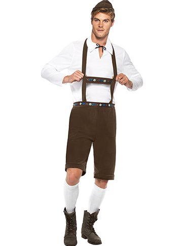 Bavarian Man - Adult Costume front