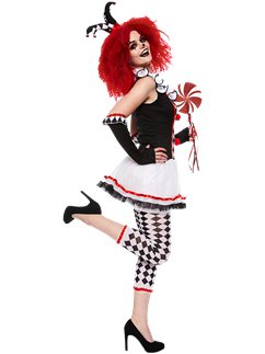 Harlequin Honey - Adult Costume