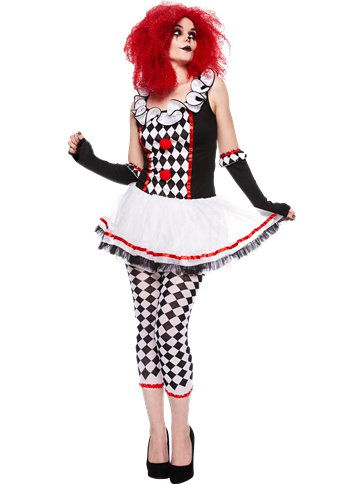 Harlequin Honey Adult Costume Party Delights