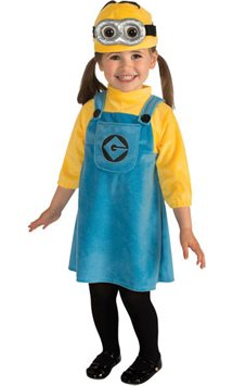 Minion Girl - Toddler Costume