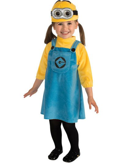 Female Minion - Toddler Costume