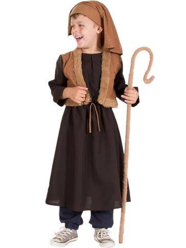 Nativity Shepherd Child Costume Party Delights