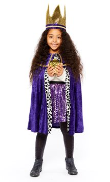 Purple Nativity King - Child Costume