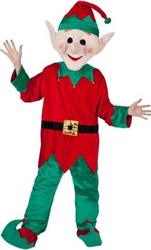 Elf Mascot - Adult Costume