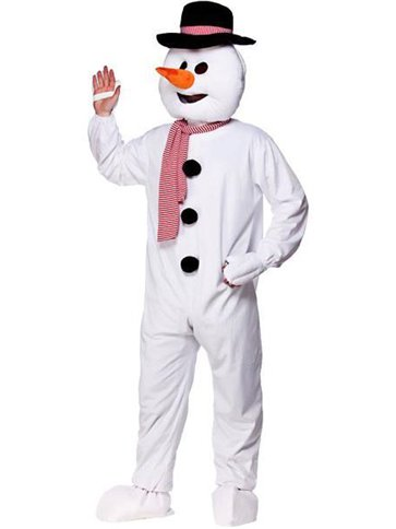 Snowman Mascot - Adult Costume front