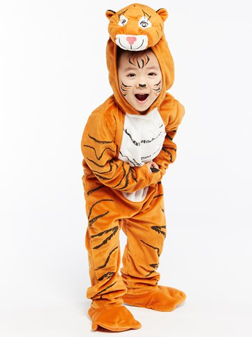 The Tiger Who Came To Tea - Child Costume front