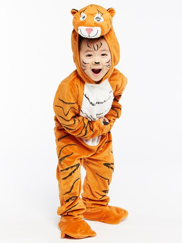 The Tiger Who Came To Tea - Child Costume pla