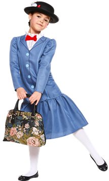 Mary Poppins - Child Costume