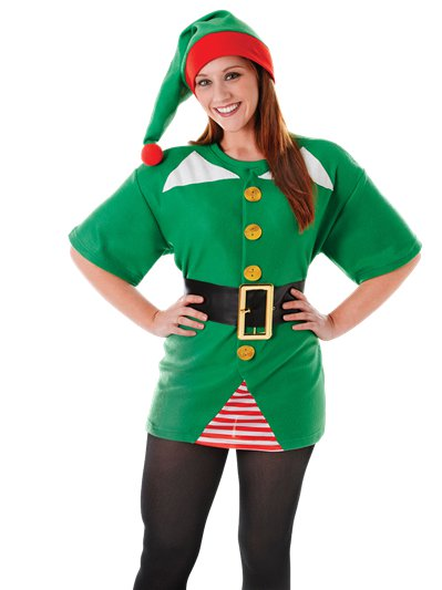 Jolly Elf - Adult Costume