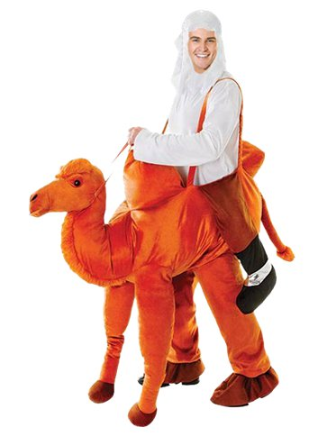 Step-In Camel - Adult Costume front