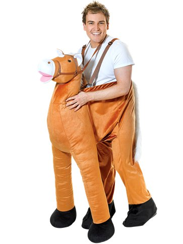 Step-In Horse - Adult Costume front