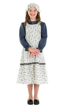 Victorian School Girl - Child Costume