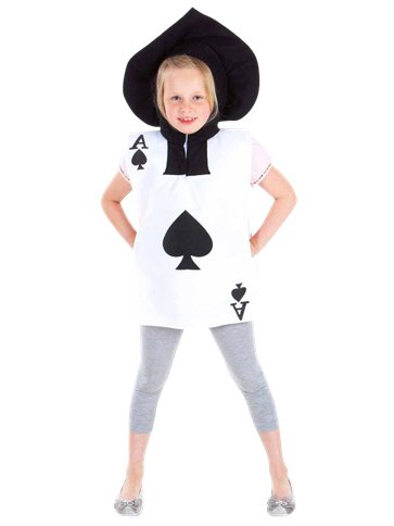 Playing Card Child Costume Party Delights
