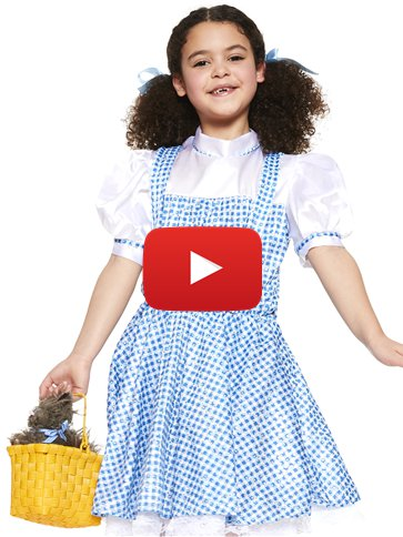 Dorothy Child Costume Party Delights