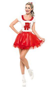 Grease Sandy Cheerleader - Adult Costume