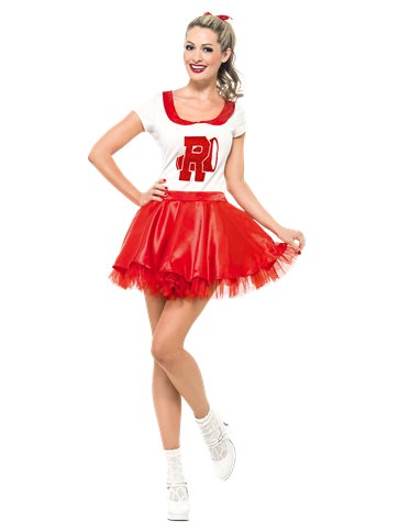 Grease Sandy Cheerleader - Adult Costume front
