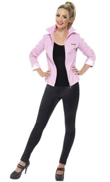 Grease Pink Ladies Jacket Deluxe - Adult Costume