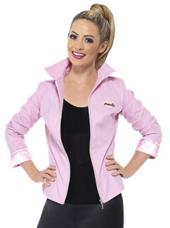 Grease Pink Ladies Jacket Deluxe