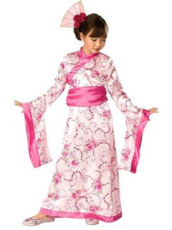 Asian Princess - Child Costume