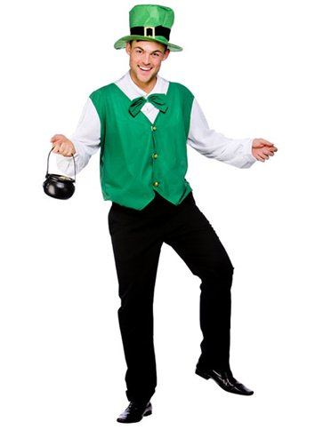 Lucky Leprechaun - Adult Costume front