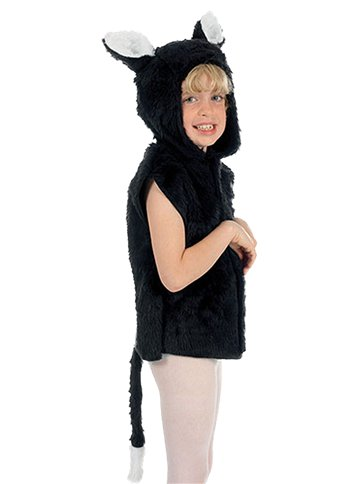 Cat Fur Tabard - Child Costume front