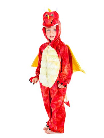 Red Dragon - Child Costume front