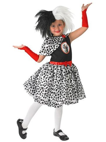 Cruella De Vil - Child Costume front