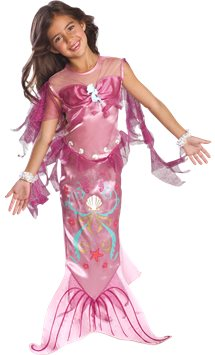 Pink Mermaid - Toddler and Child Costume