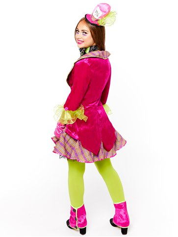 Mad Hatter - Child & Teen Costume back