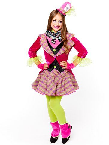 Mad Hatter - Child & Teen Costume front