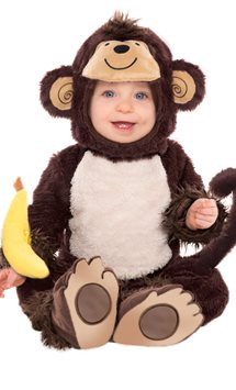 Monkey Around - Baby & Toddler Costume