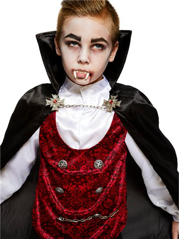 Dark Vampire Child Costume Party Delights